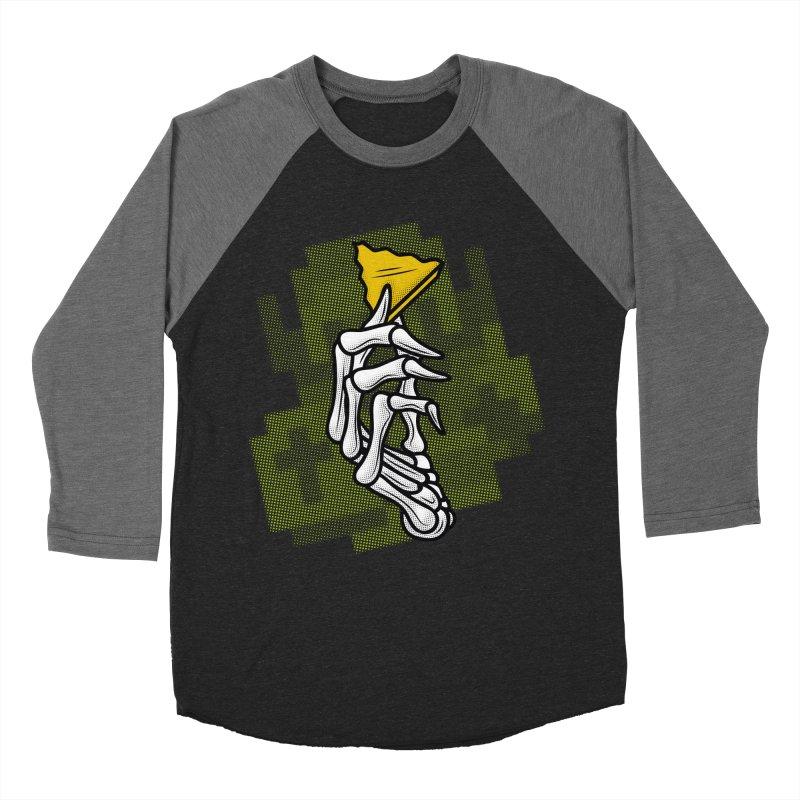 HYRULE VALUES TRIFORCE PART Men's Baseball Triblend T-Shirt by UNDEAD MISTER
