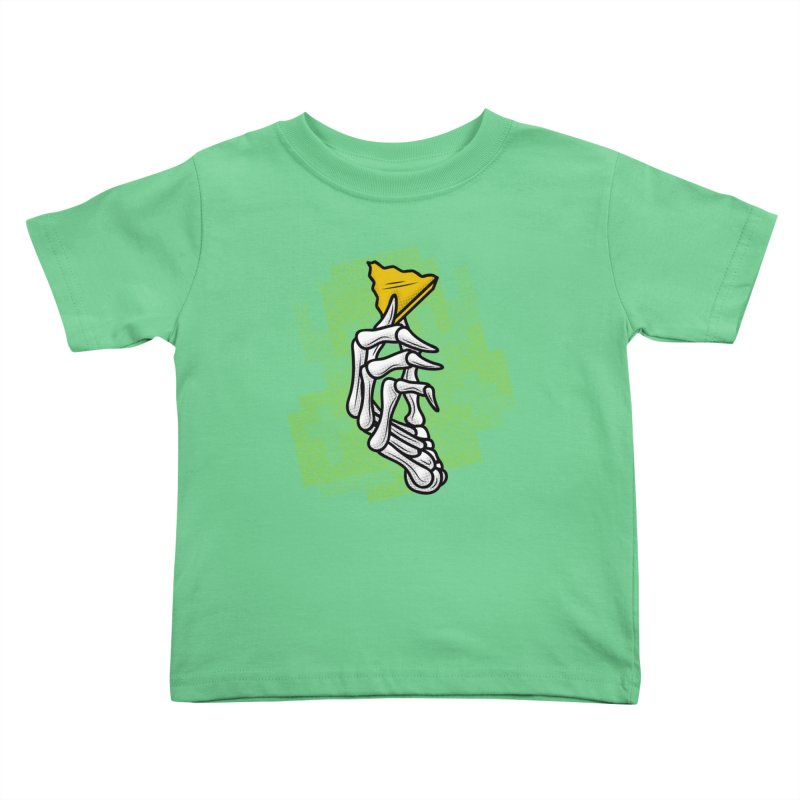 HYRULE VALUES TRIFORCE PART Kids Toddler T-Shirt by UNDEAD MISTER