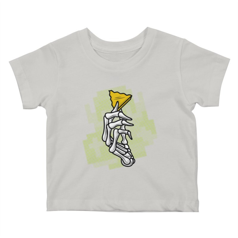 HYRULE VALUES TRIFORCE PART Kids Baby T-Shirt by UNDEAD MISTER