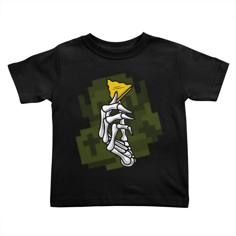 HYRULE VALUES TRIFORCE PART Kids Toddler T-Shirt by UNDEAD MISTER