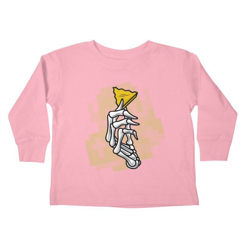 HYRULE VALUES TRIFORCE PART Kids Toddler Longsleeve T-Shirt by UNDEAD MISTER