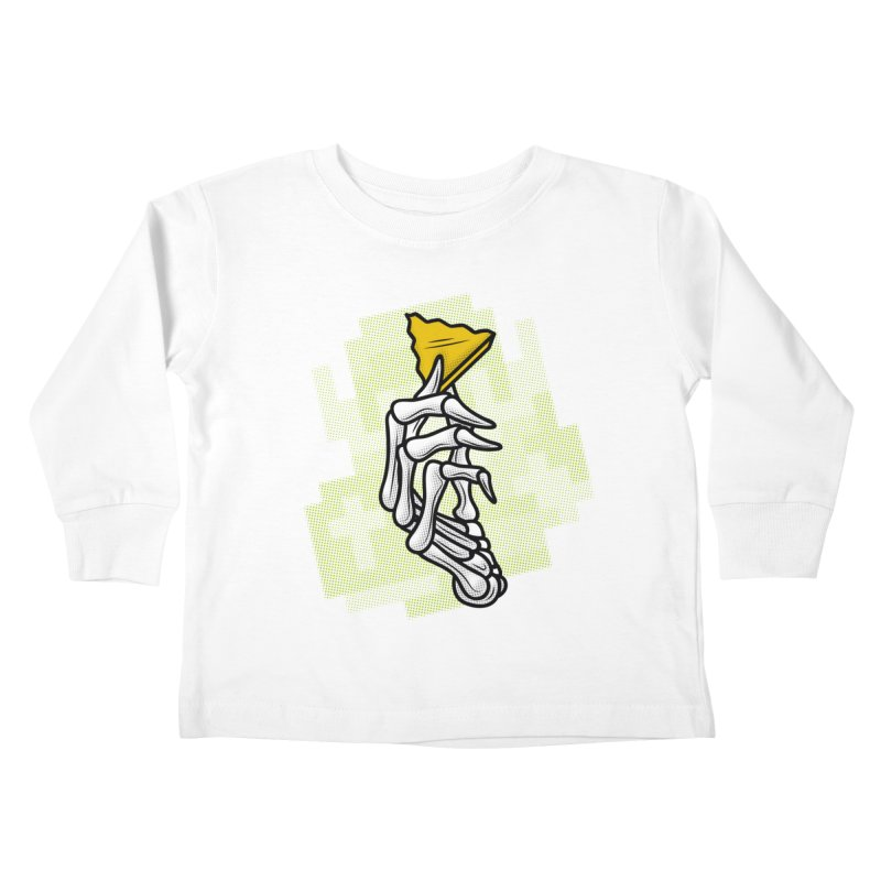 HYRULE VALUES TRIFORCE PART Kids Toddler Longsleeve T-Shirt by UNDEAD MISTER