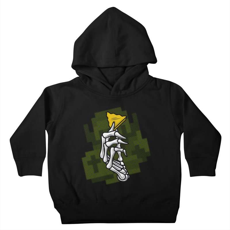 HYRULE VALUES TRIFORCE PART Kids Toddler Pullover Hoody by UNDEAD MISTER