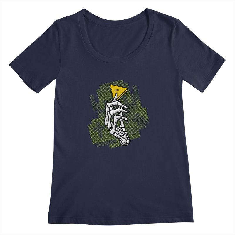 HYRULE VALUES TRIFORCE PART Women's Scoopneck by UNDEAD MISTER