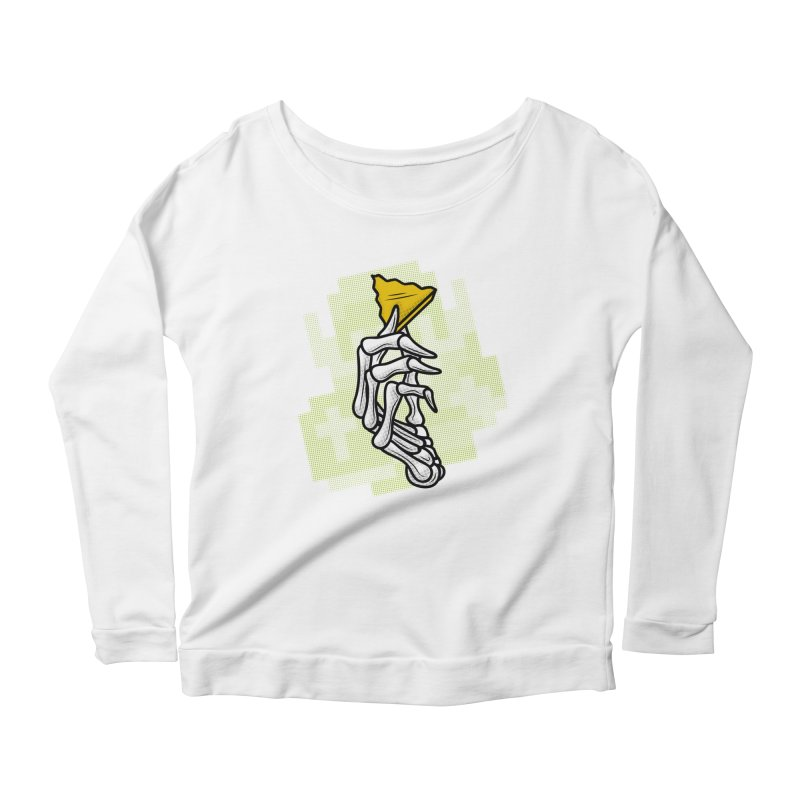 HYRULE VALUES TRIFORCE PART Women's Longsleeve Scoopneck  by UNDEAD MISTER