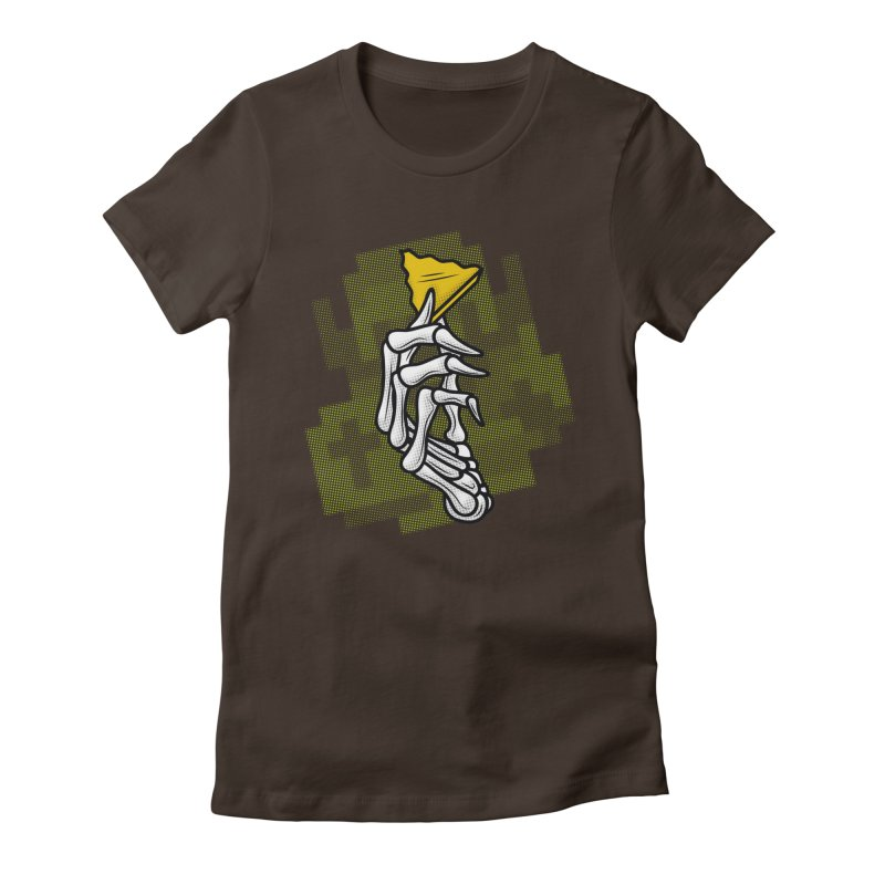 HYRULE VALUES TRIFORCE PART Women's Fitted T-Shirt by UNDEAD MISTER