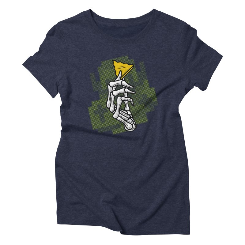 HYRULE VALUES TRIFORCE PART Women's Triblend T-Shirt by UNDEAD MISTER