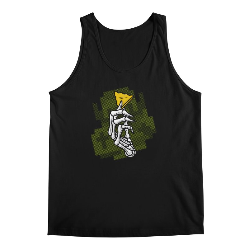 HYRULE VALUES TRIFORCE PART Men's Tank by UNDEAD MISTER