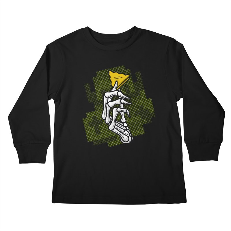HYRULE VALUES TRIFORCE PART Kids Longsleeve T-Shirt by UNDEAD MISTER