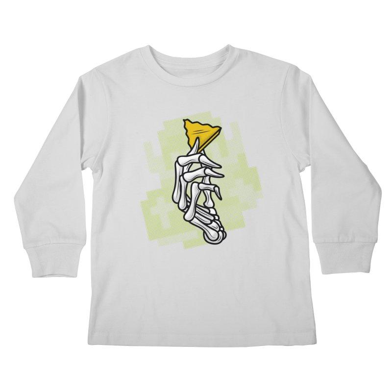 HYRULE VALUES TRIFORCE PART Kids Longsleeve T-Shirt by UNDEAD MISTER