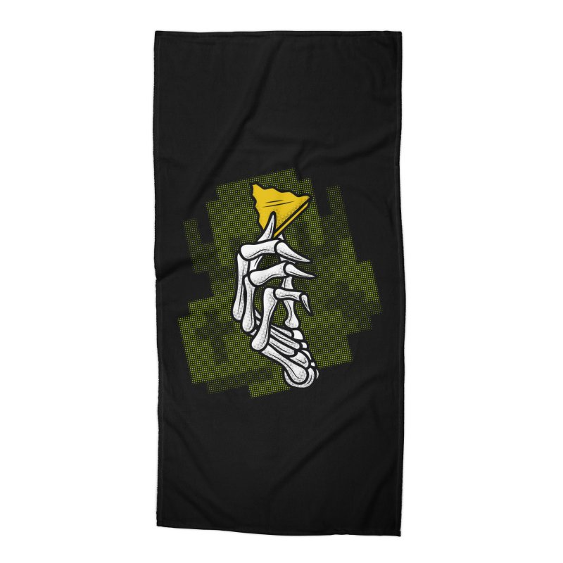 HYRULE VALUES TRIFORCE PART Accessories Beach Towel by UNDEAD MISTER