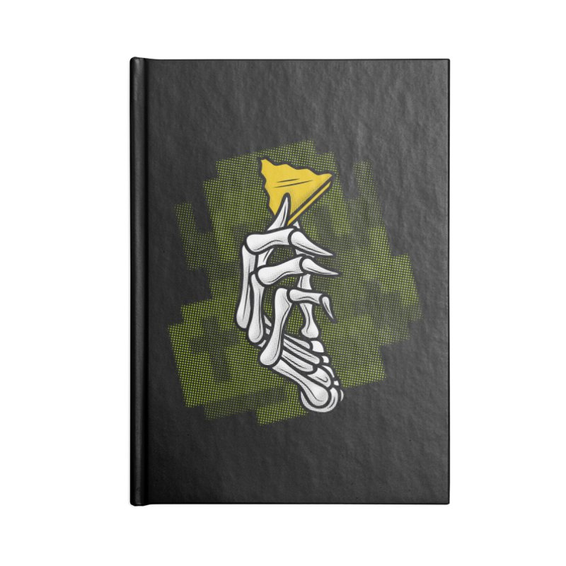 HYRULE VALUES TRIFORCE PART Accessories Notebook by UNDEAD MISTER