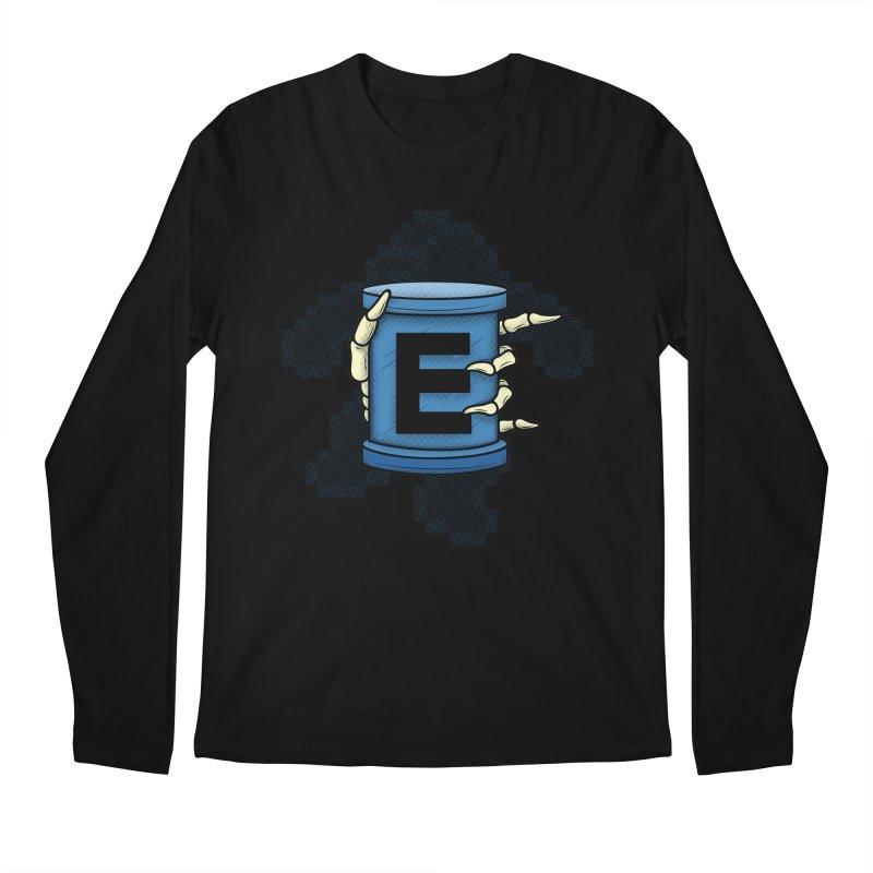 20XX ENERGY TANK Men's Longsleeve T-Shirt by UNDEAD MISTER