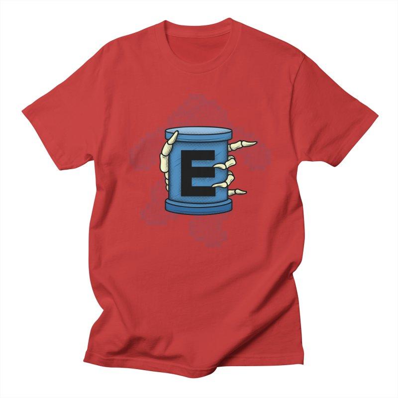 20XX ENERGY TANK Men's Regular T-Shirt by UNDEAD MISTER