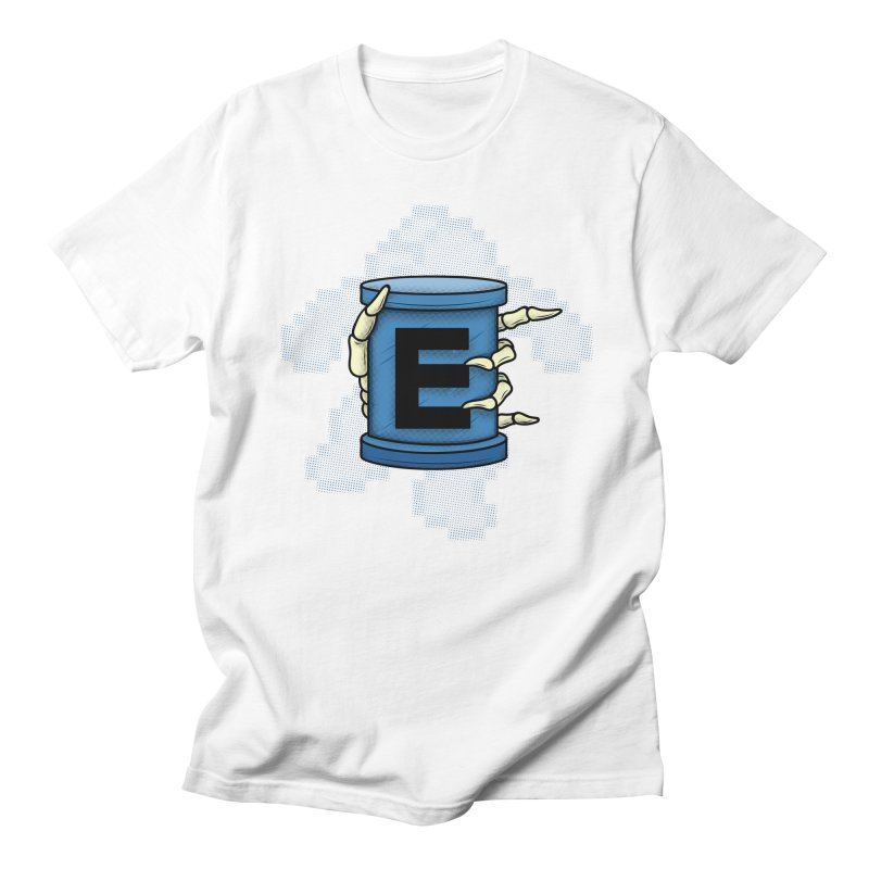 20XX ENERGY TANK Men's T-shirt by UNDEAD MISTER