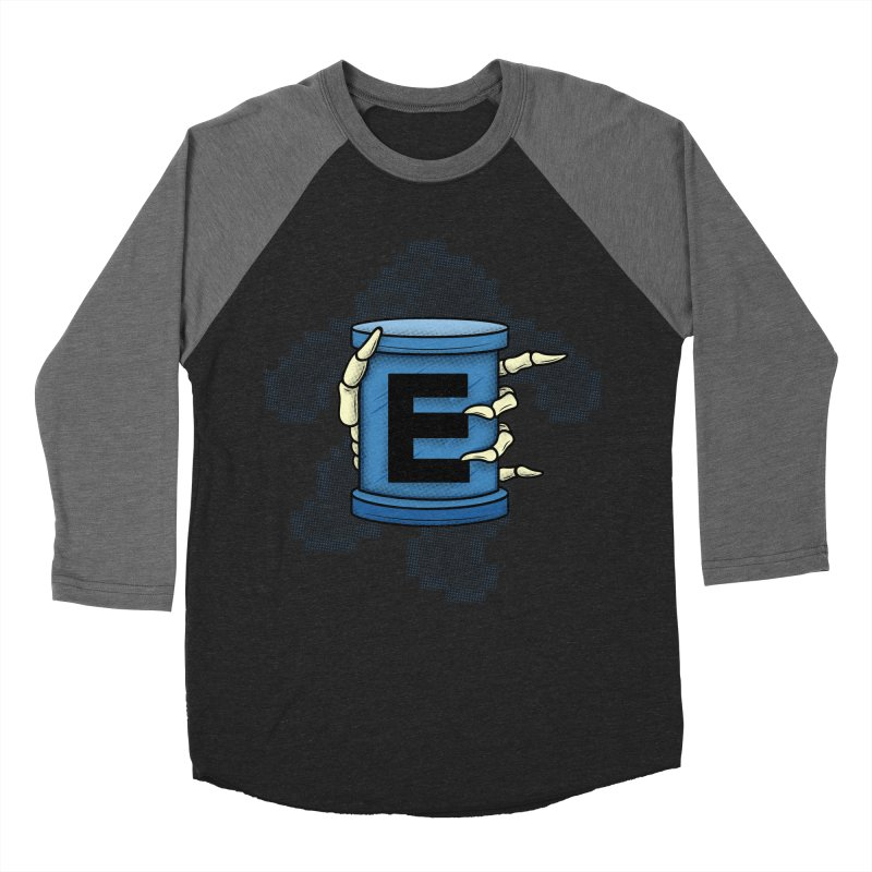 20XX ENERGY TANK Men's Baseball Triblend T-Shirt by UNDEAD MISTER