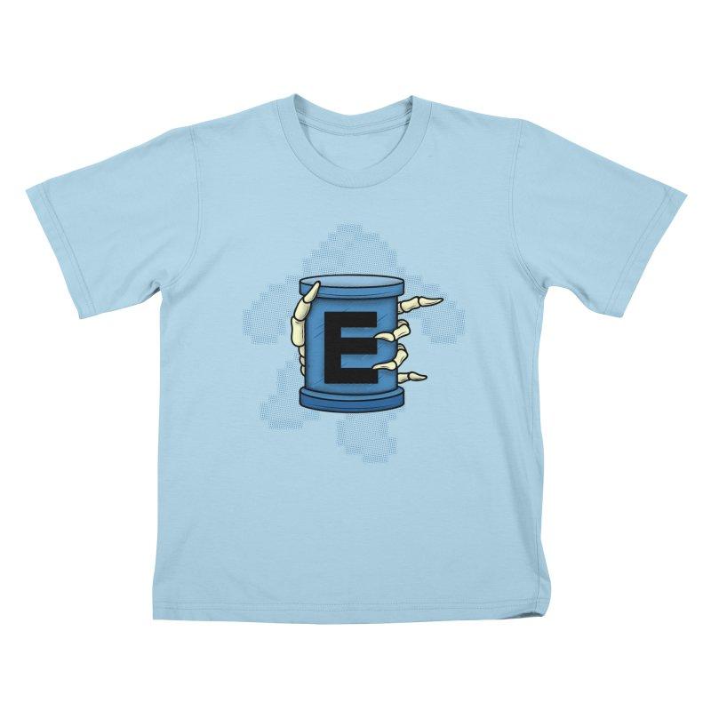 20XX ENERGY TANK Kids T-shirt by UNDEAD MISTER