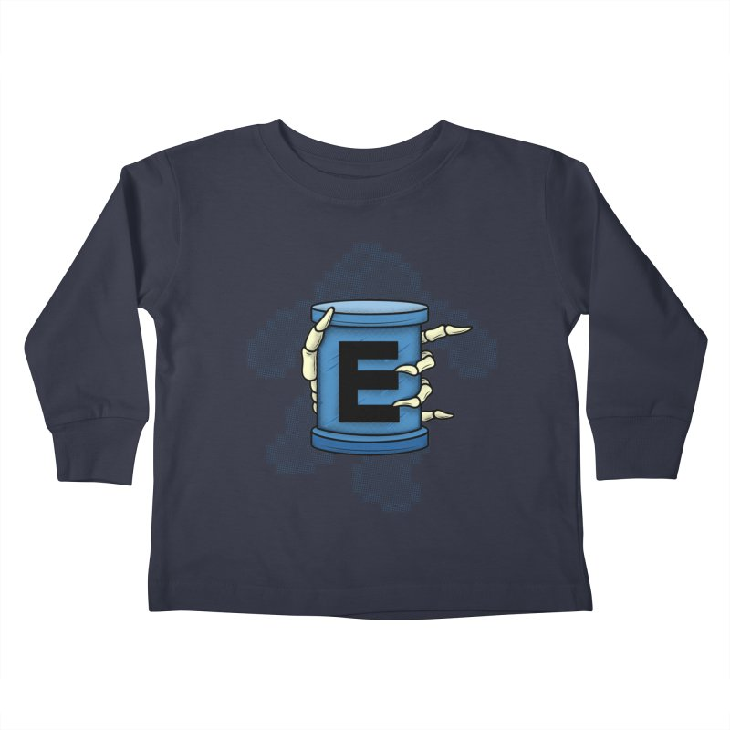 20XX ENERGY TANK Kids Toddler Longsleeve T-Shirt by UNDEAD MISTER