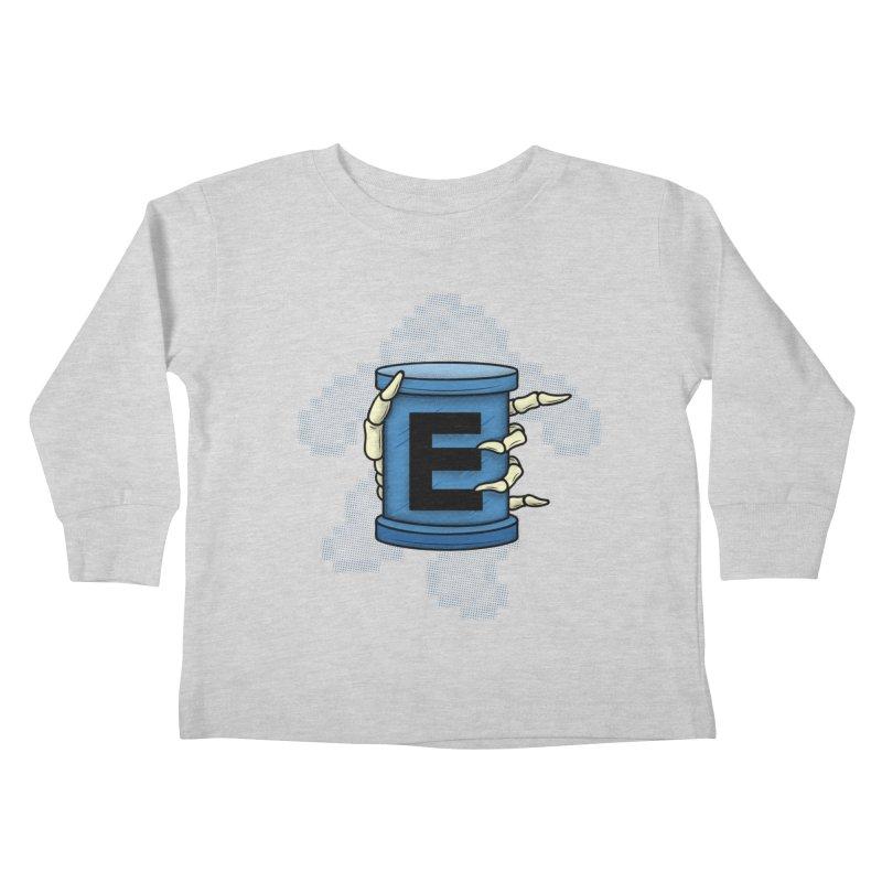 20XX ENERGY TANK Kids Toddler Longsleeve T-Shirt by UNDEAD MISTER