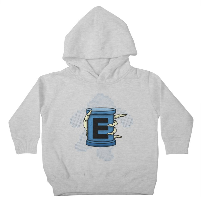 20XX ENERGY TANK Kids Toddler Pullover Hoody by UNDEAD MISTER