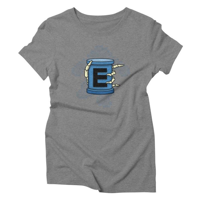 20XX ENERGY TANK Women's Triblend T-shirt by UNDEAD MISTER