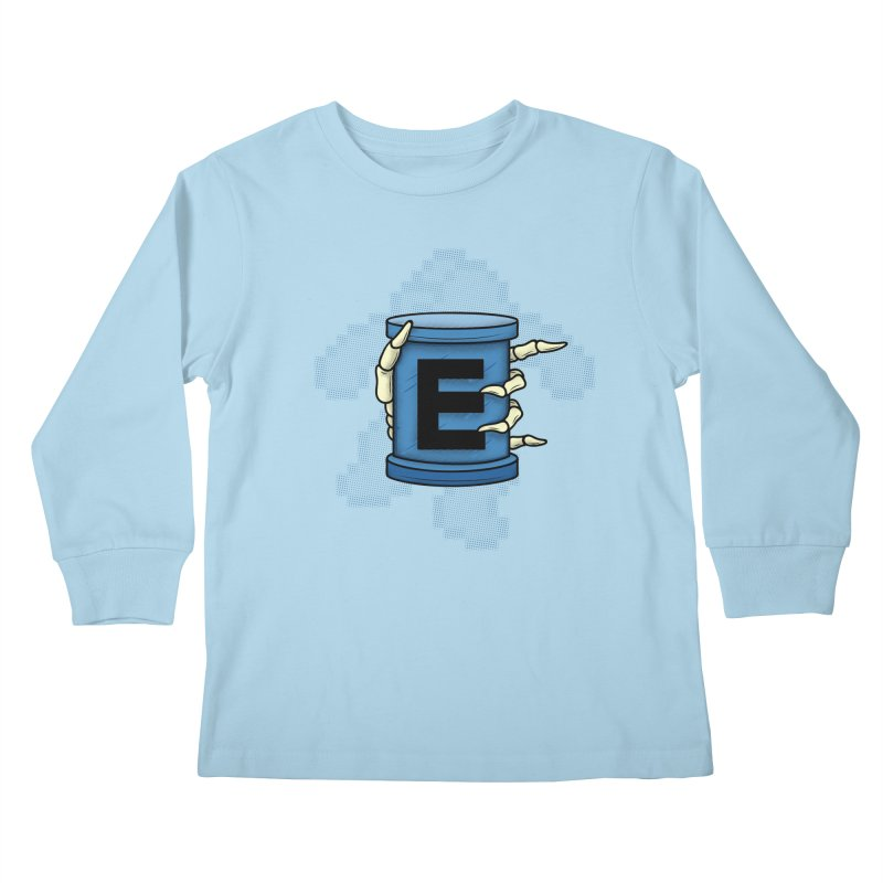 20XX ENERGY TANK Kids Longsleeve T-Shirt by UNDEAD MISTER