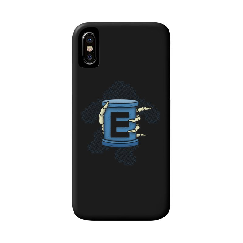 20XX ENERGY TANK Accessories Phone Case by UNDEAD MISTER