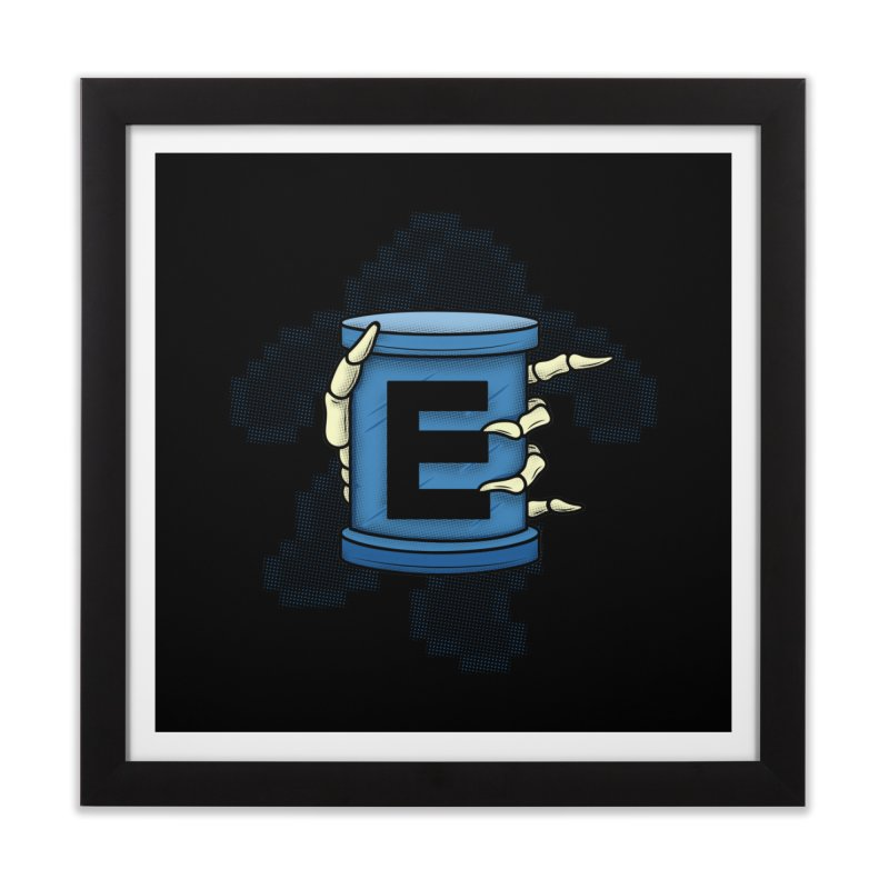 20XX ENERGY TANK Home Framed Fine Art Print by UNDEAD MISTER