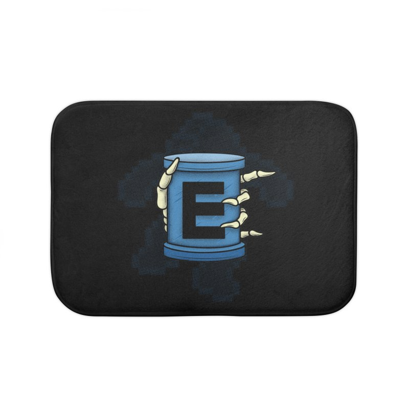 20XX ENERGY TANK Home Bath Mat by UNDEAD MISTER