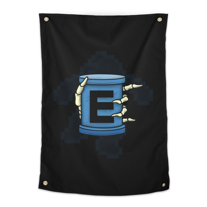 20XX ENERGY TANK Home Tapestry by UNDEAD MISTER