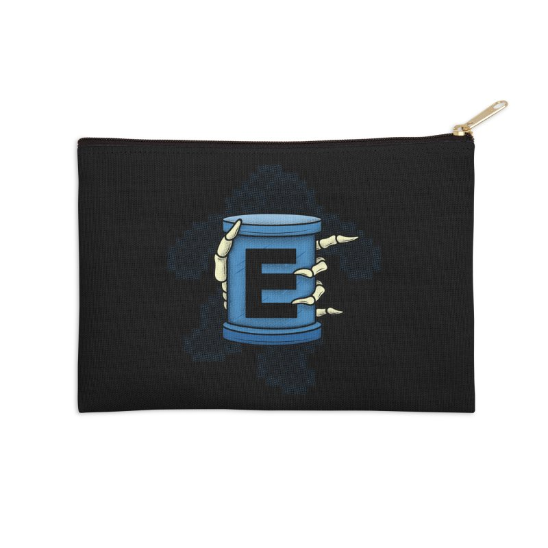 20XX ENERGY TANK Accessories Zip Pouch by UNDEAD MISTER