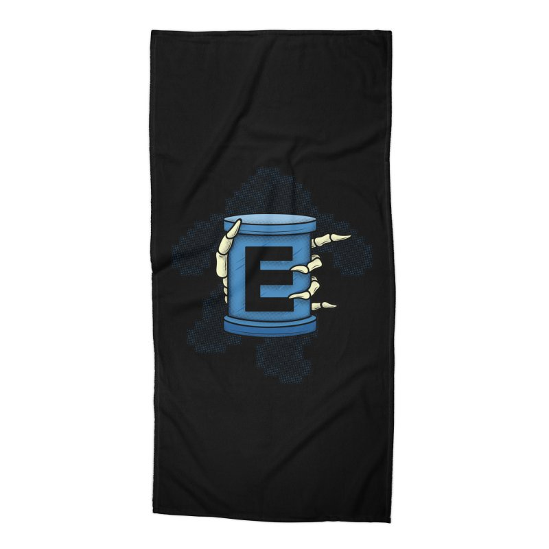 20XX ENERGY TANK Accessories Beach Towel by UNDEAD MISTER