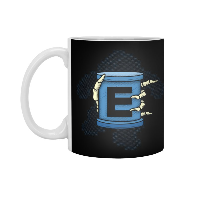 20XX ENERGY TANK Accessories Mug by UNDEAD MISTER