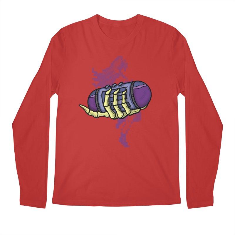CHOZO ENERGY TANK Men's Longsleeve T-Shirt by UNDEAD MISTER