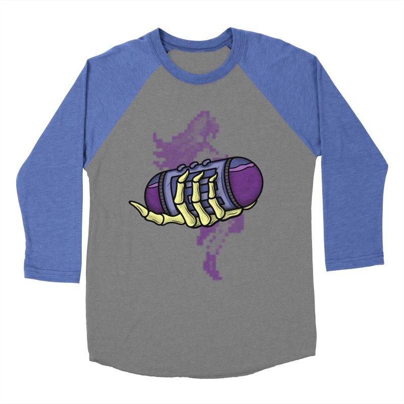 CHOZO ENERGY TANK Women's Baseball Triblend T-Shirt by UNDEAD MISTER