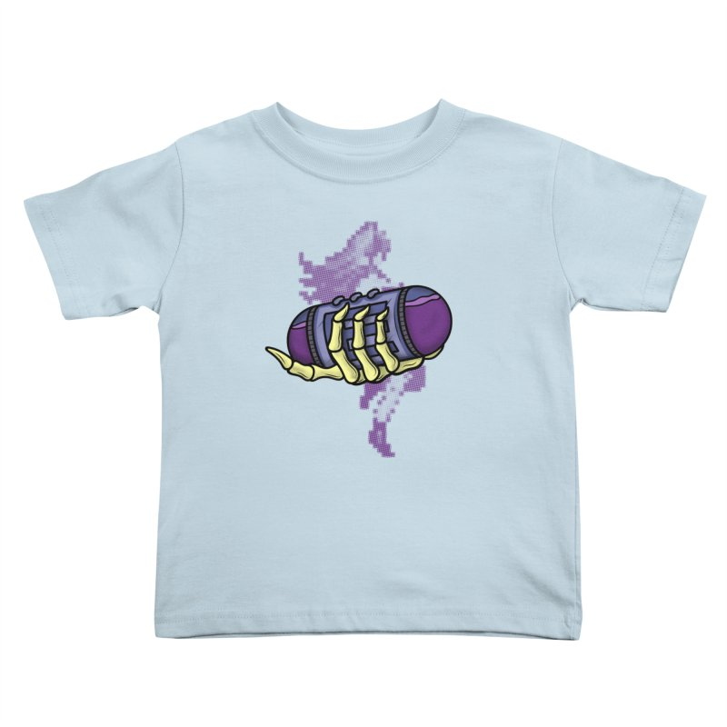CHOZO ENERGY TANK Kids Toddler T-Shirt by UNDEAD MISTER