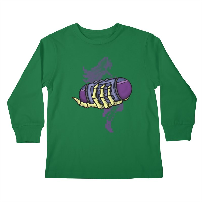 CHOZO ENERGY TANK Kids Longsleeve T-Shirt by UNDEAD MISTER