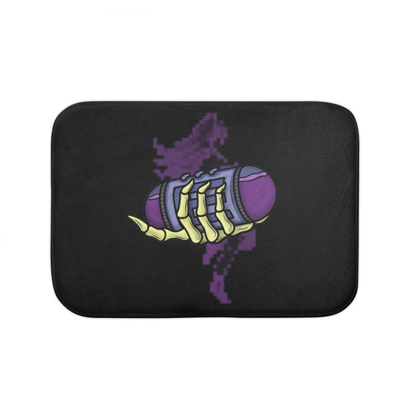 CHOZO ENERGY TANK Home Bath Mat by UNDEAD MISTER
