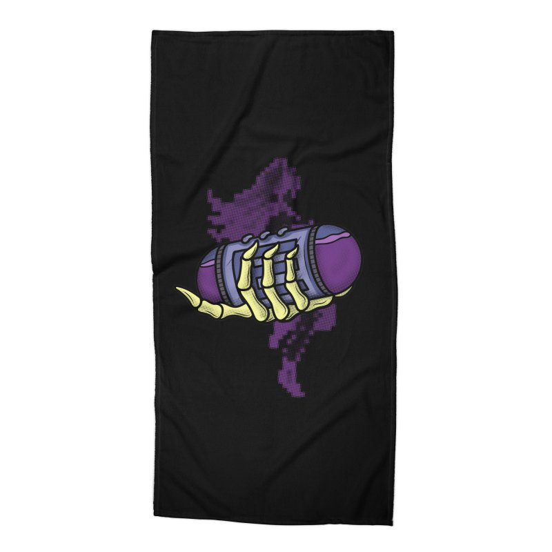 CHOZO ENERGY TANK Accessories Beach Towel by UNDEAD MISTER