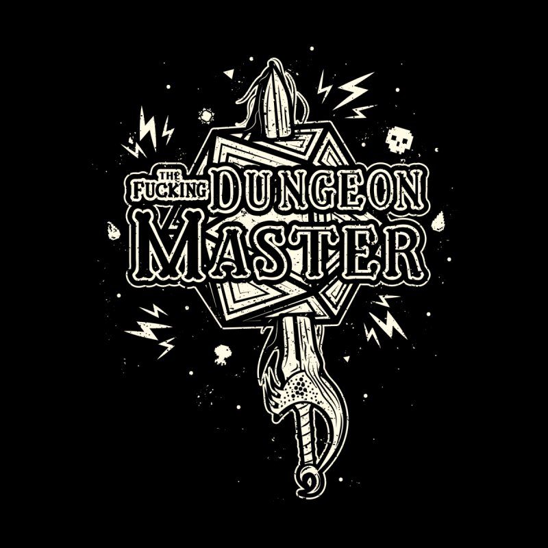 THE F* DUNGEON MASTER Accessories Zip Pouch by UNDEAD MISTER