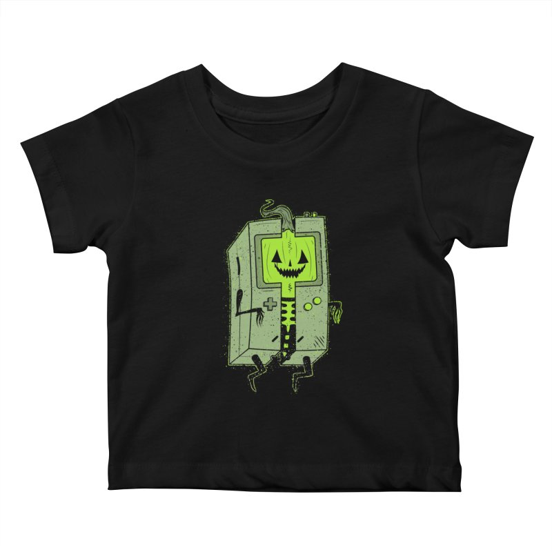 GHOUL BOY Kids Baby T-Shirt by UNDEAD MISTER