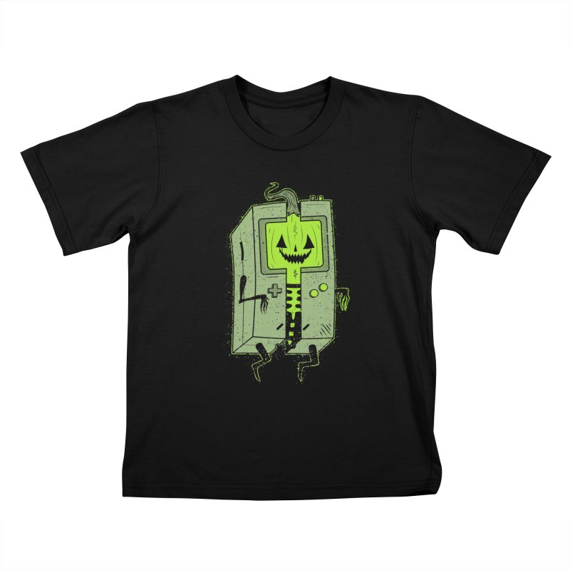 GHOUL BOY Kids T-Shirt by UNDEAD MISTER
