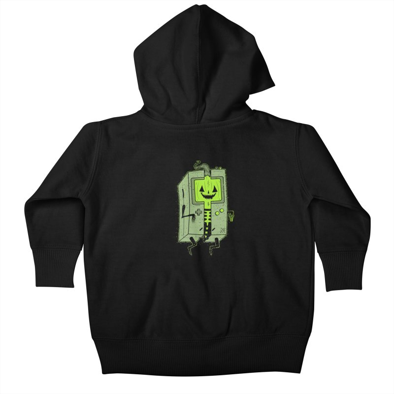 GHOUL BOY Kids Baby Zip-Up Hoody by UNDEAD MISTER
