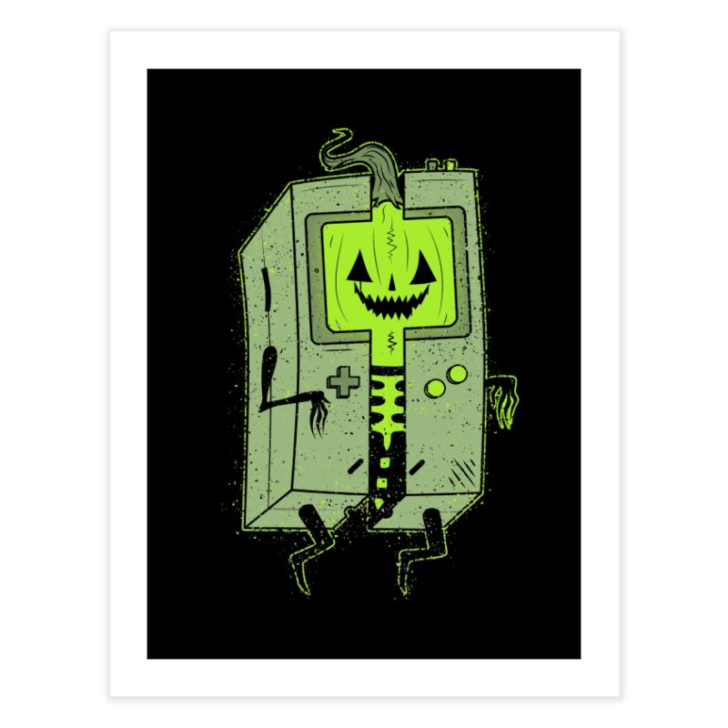 GHOUL BOY Home Fine Art Print by UNDEAD MISTER