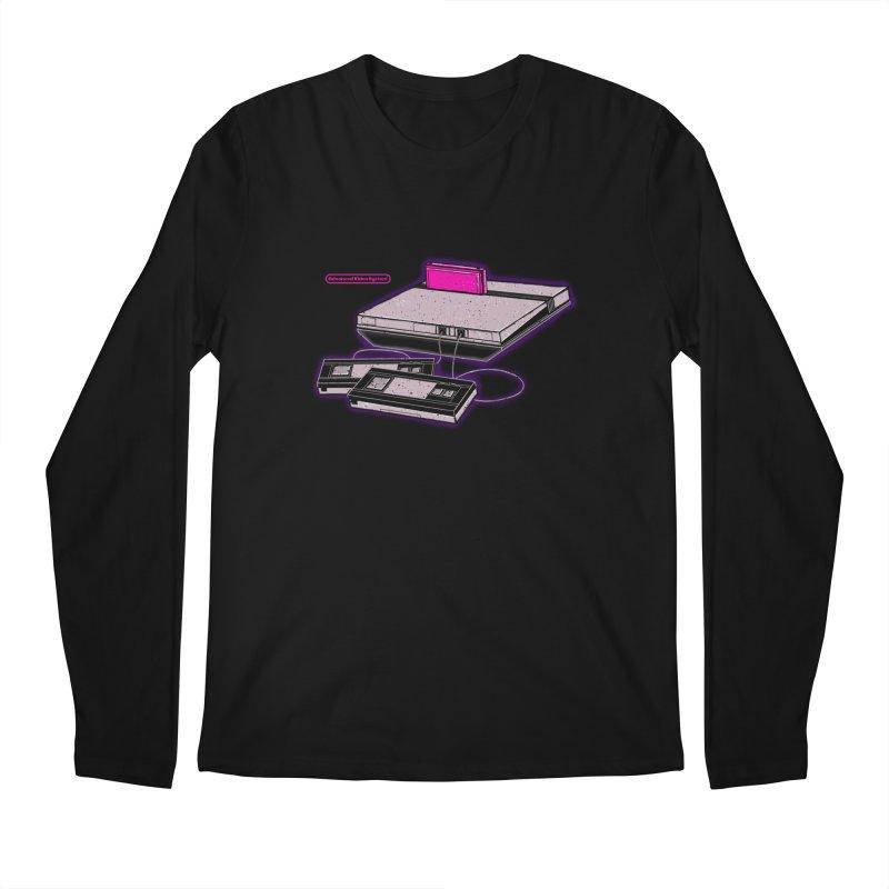 Advanced Video System Men's Longsleeve T-Shirt by UNDEAD MISTER