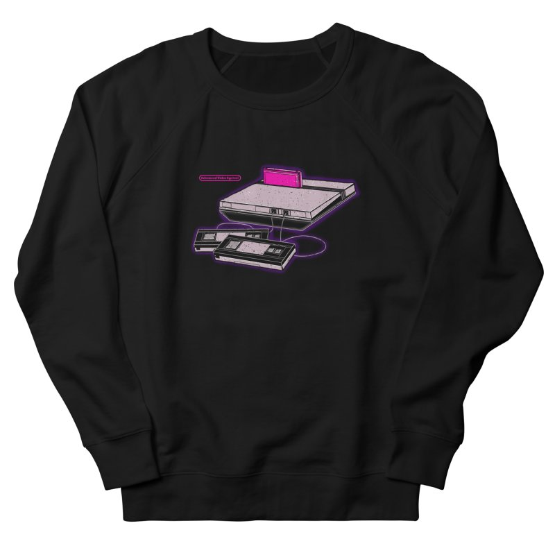 Advanced Video System Men's French Terry Sweatshirt by UNDEAD MISTER