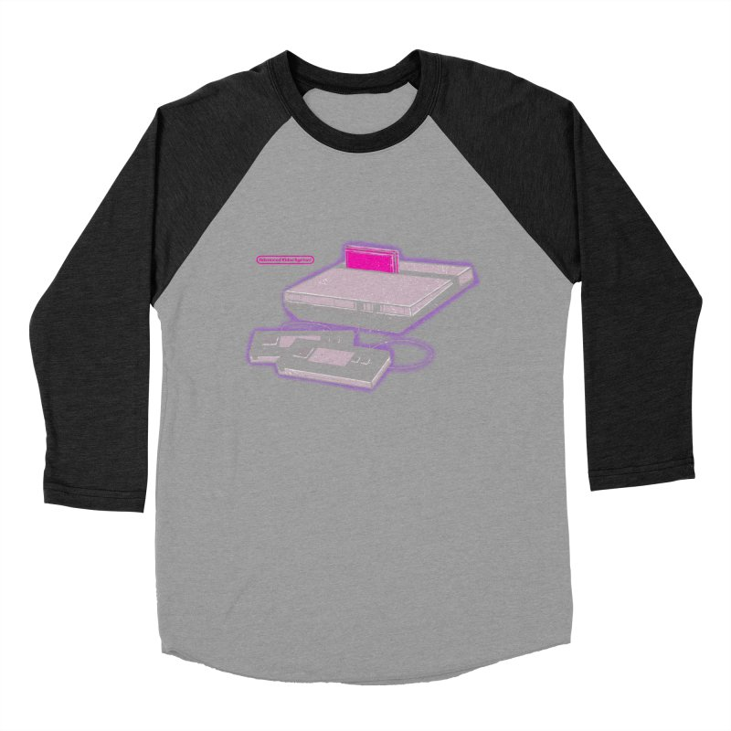 Advanced Video System Women's Baseball Triblend T-Shirt by UNDEAD MISTER