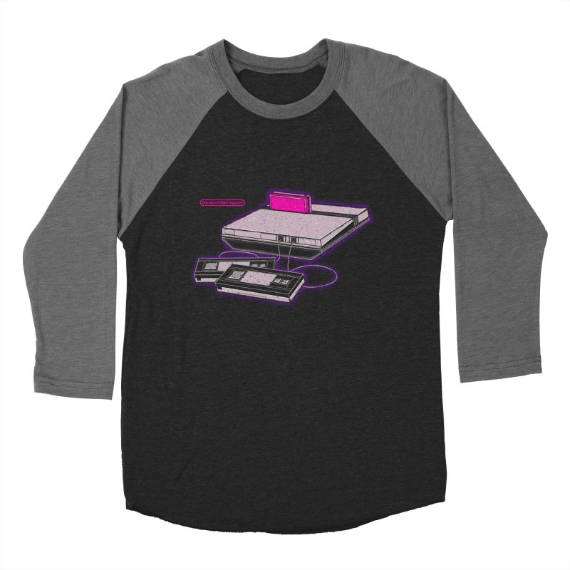 Advanced Video System Men's Baseball Triblend T-Shirt by UNDEAD MISTER