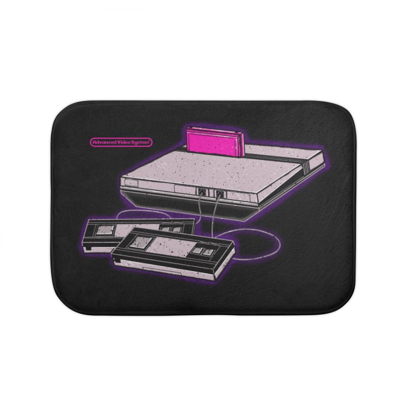 Advanced Video System Home Bath Mat by UNDEAD MISTER