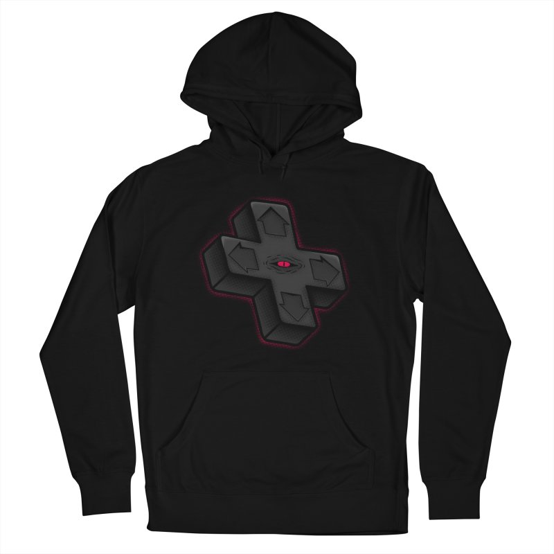 THE D-PAD FROM THE BEYOND! Women's French Terry Pullover Hoody by UNDEAD MISTER
